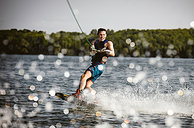 Wake boarding at Chatfield Lake | Live the Solstice Lifestyle