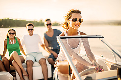 At Solstice, boating, waterskiing, paddle-boarding, jet skiing, and sailing are just outside your door.