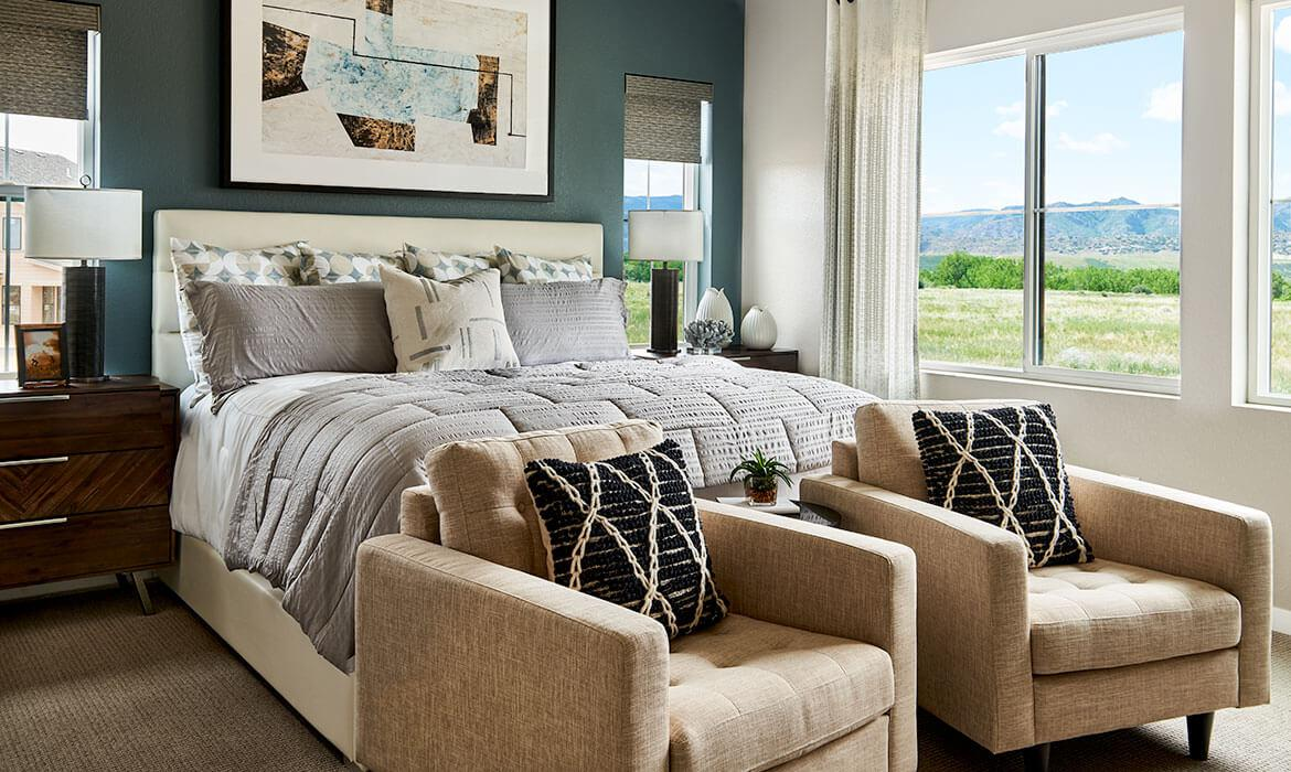 Imagine Model - Master Bedroom | Harmony at Solstice | Shea Homes
