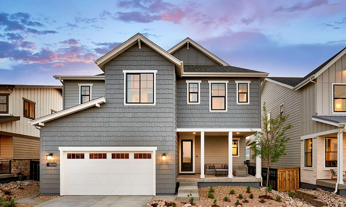 Stargaze at Solstice | Morningside Model - Exterior | A Master-planned Community In Littleton, CO
