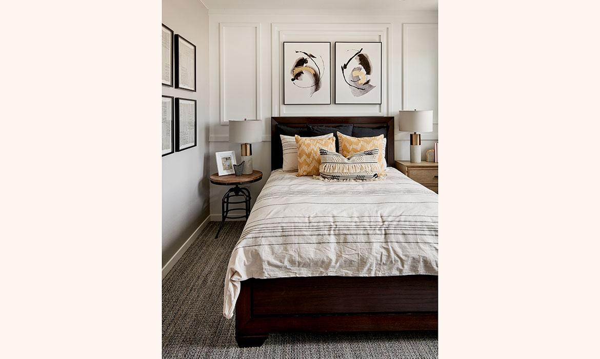 Guest Bedroom | Stargaze at Solstice | A New Home Community By Shea Homes