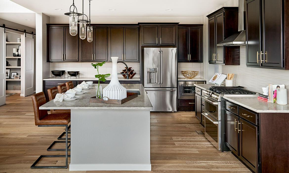 Morningside Model - Kitchen | Live Solstice | New Homes Near Chatfield Lake