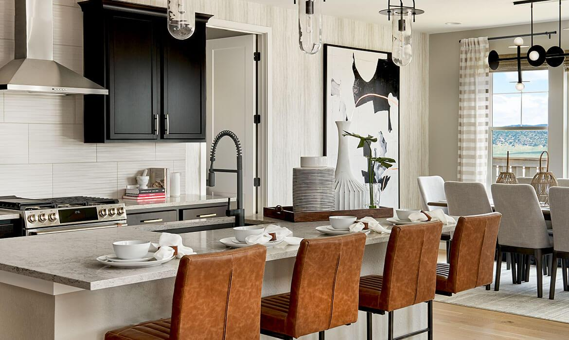 Kitchen Island - Morningside Model | Stargaze at Solstice | New Homes In Littleton, CO