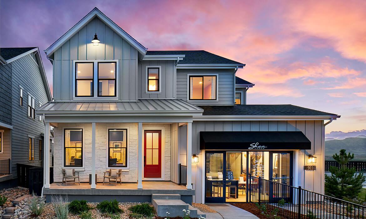 Stargaze at Solstice | Twilight Model - Exterior | A Master-planned Community In Littleton, CO