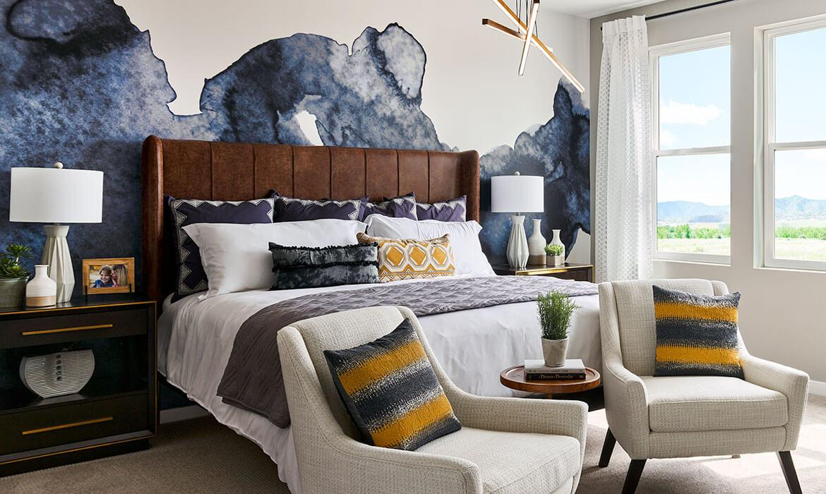 Master Bedroom | Twilight Model - Stargaze at Solstice | New Homes In Littleton, CO