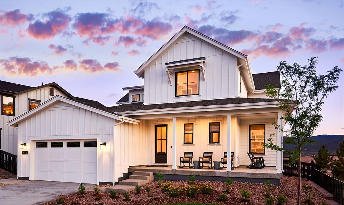 Trails Edge at Solstice - Meadowview Exterior | Solstice CO | A New Home Community By Shea Homes