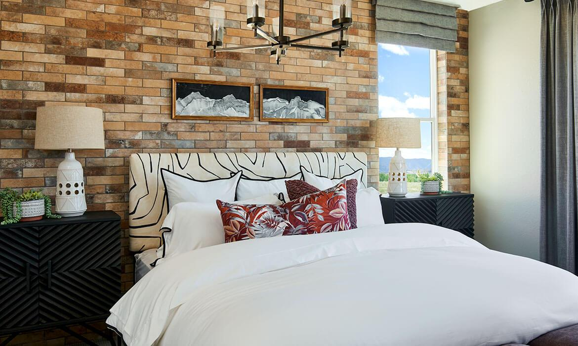 Master Bedroom | Meadowview Collection | Trails Edge at Solstice | New Homes Near Chatfield Lake