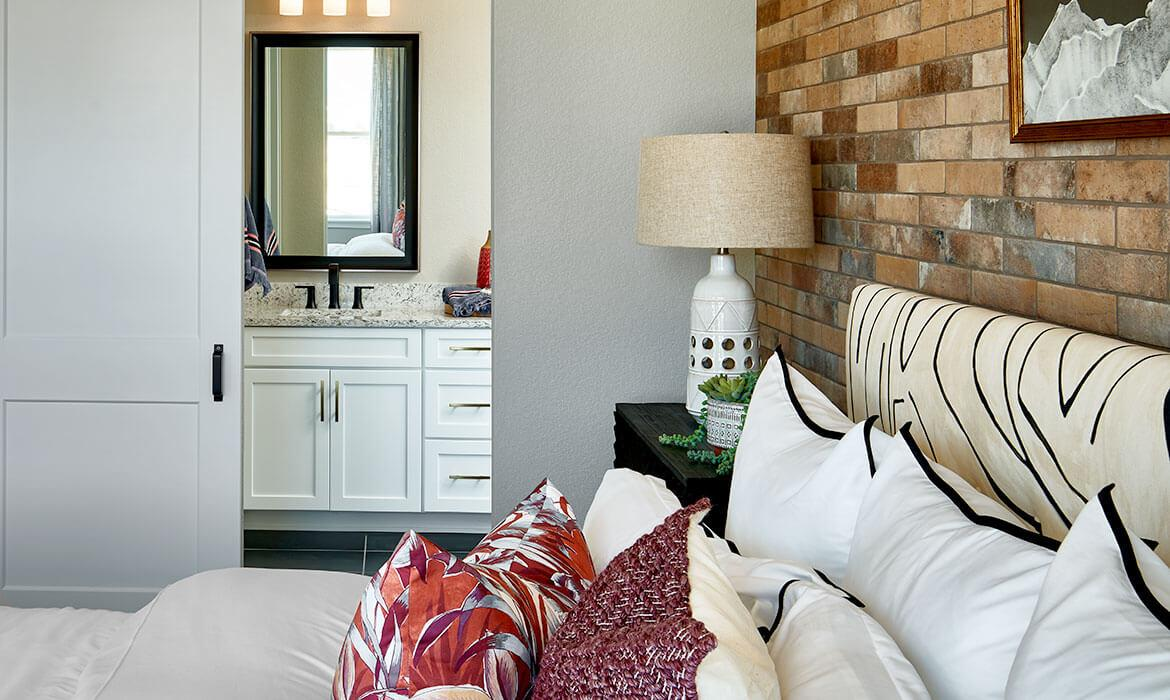 Meadowview Master Bath | Live Solstice CO | A Boutique Community Near Chatfield State Par