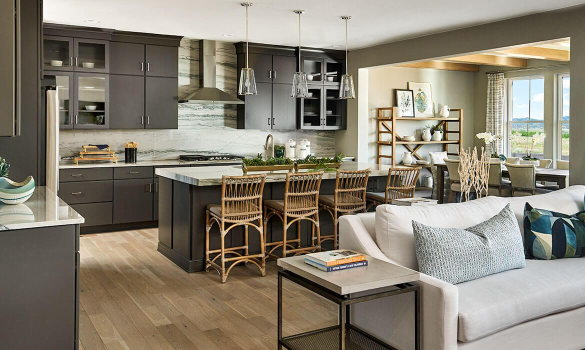 Kitchen And Dining Room - Tallgrass Model | Trails Edge at Solstice | A New Home Community By Shea Homes